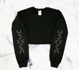 Moon Crop Sweatshirt
