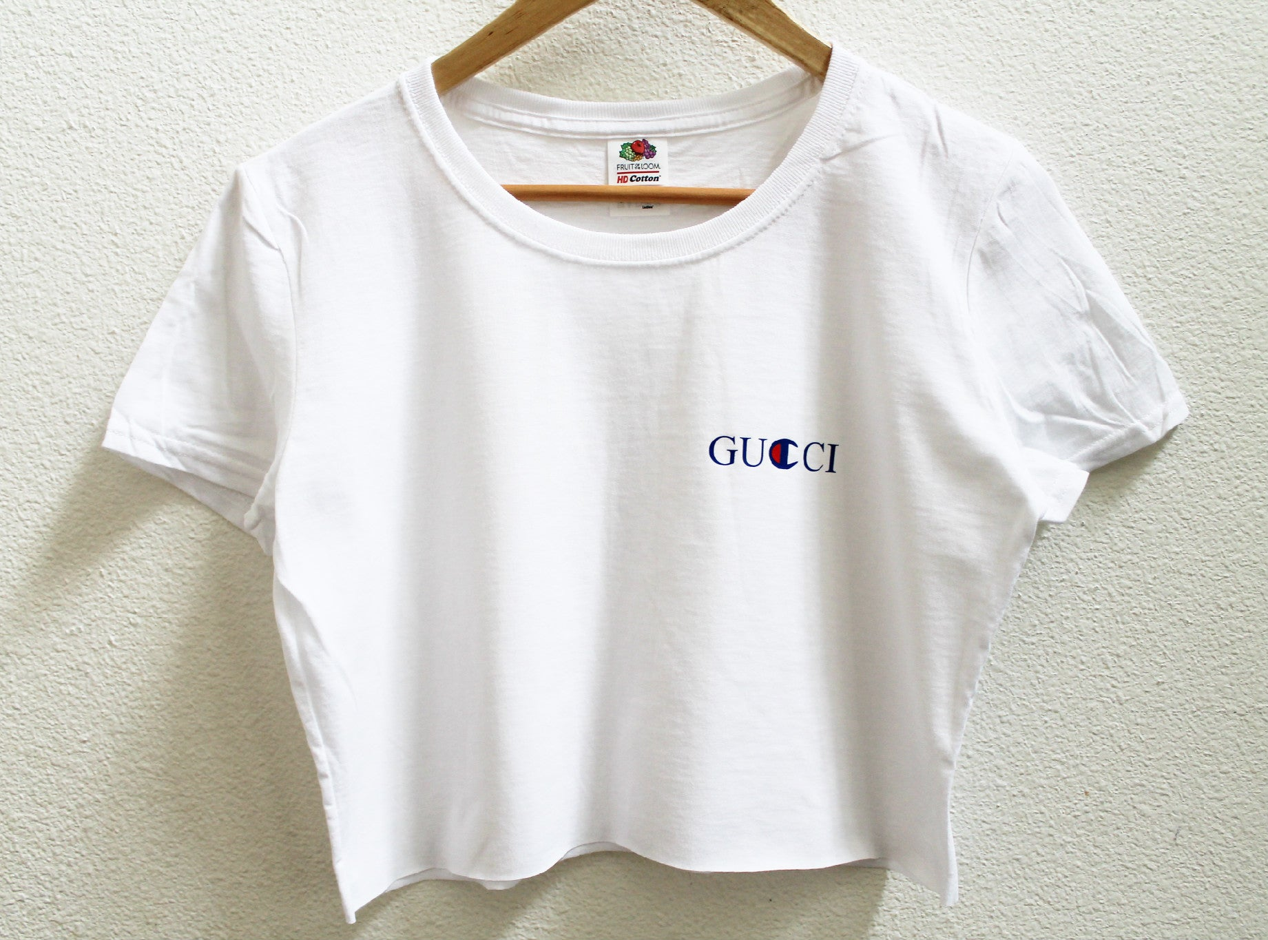 Gucci X Champ Women's Crop Shirt
