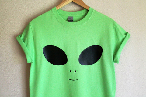 Alien Green Unisex T-Shirt