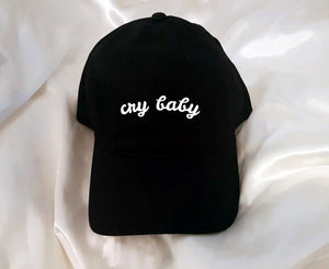 Cry Baby Baseball Hat