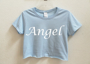 Angel Crop Shirt