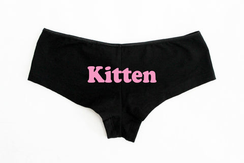 Kitten Boyshorts Shorties