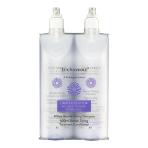 Blonde Toning 16.9oz - 500ml Duo - Trichovedic