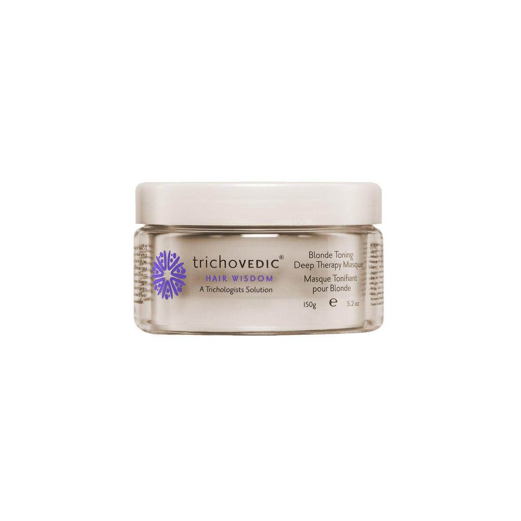 Blonde Toning Deep Therapy Masque - Trichovedic