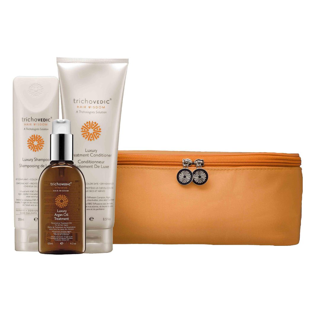 Luxury Argan Pack - Trichovedic