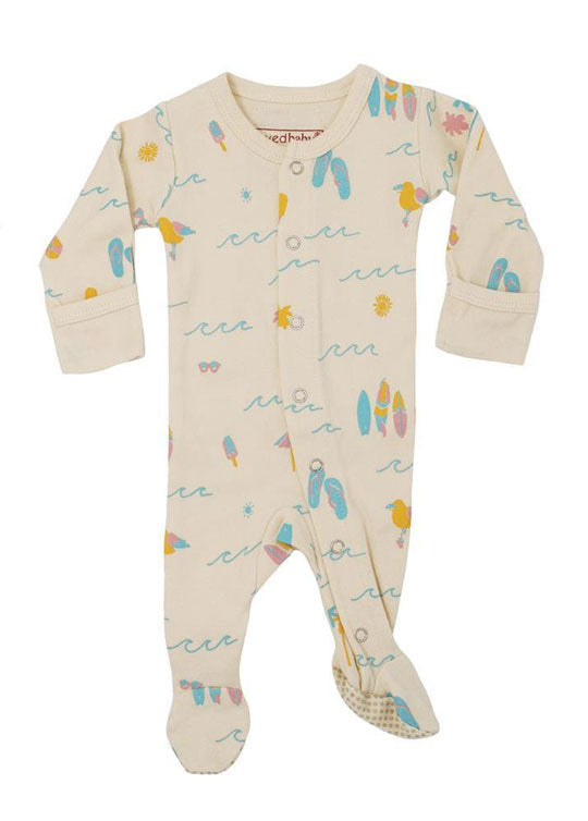 footie pajamas from L'ovedbaby