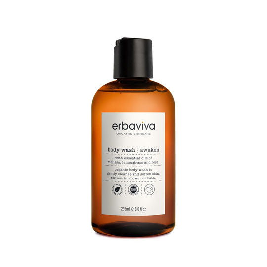 Awaken Body Wash for moms from Erbaviva