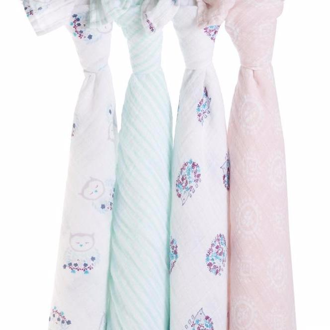 Thistle 4-pack Swaddles
