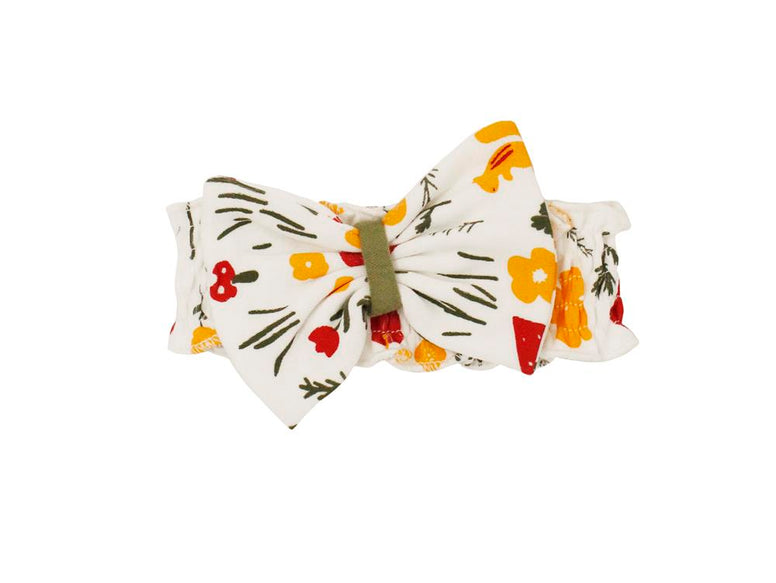 Bowtie Headband-White Hike