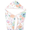 Muslin Hooded Towel-Bloom