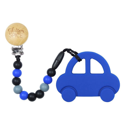 Car Teether- Royal Blue
