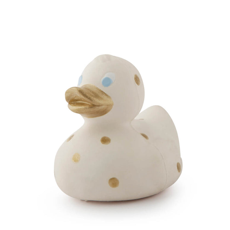 Elvis the Duck- Gold Dots