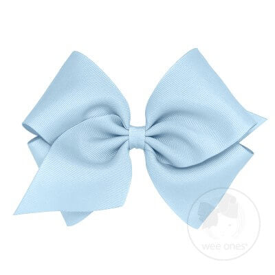 Mini King Classic Grosgrain Hair Bow