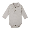 Organic Polo Pebble Dots- L/S Bodysuit