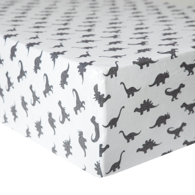 Cotton Fitted Crib Sheet-Wild