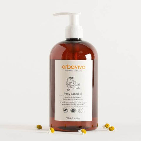Erbaviva Baby Shampoo | Organic Shampoo at Hatched Boutique