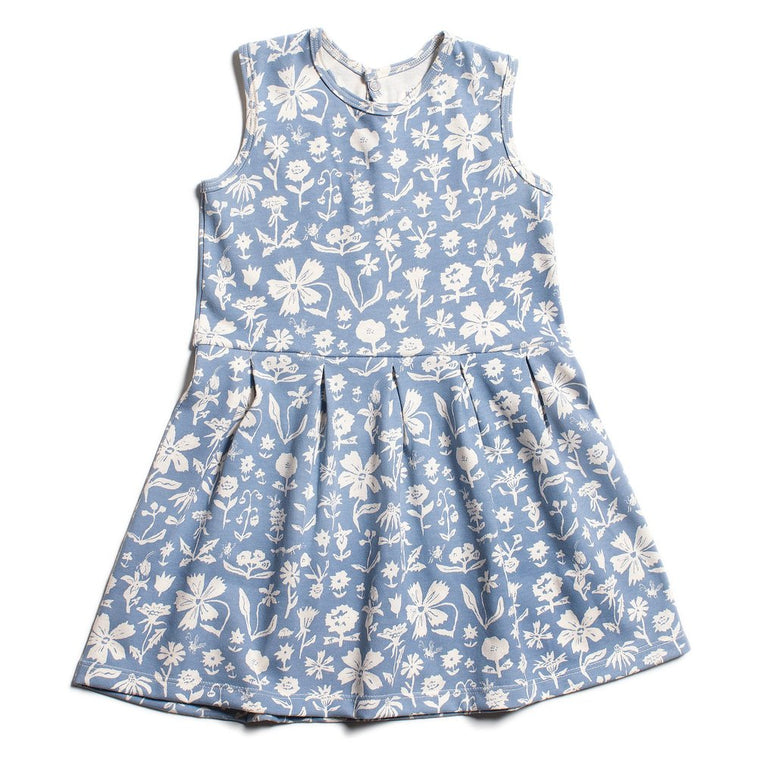 Essex Dress- In the Garden Blue