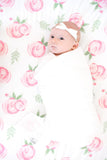 Cotton Fitted Crib Sheet-Grace