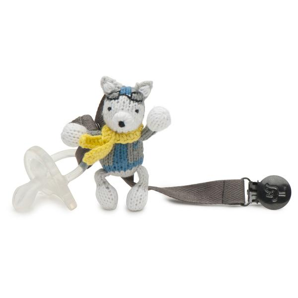 Pacifier Holder- Husky