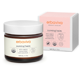 Erbaviva Nursing Balm | Organic Breastfeeding Solutions