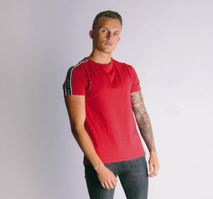 Tape T-Shirt - Red