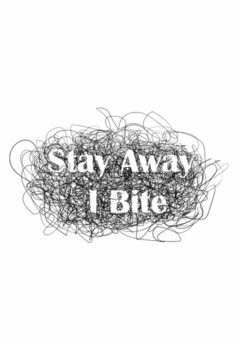 Stay Away i Bite Tee