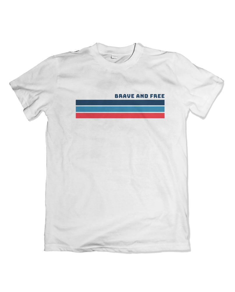 Brave and Free Tshirt