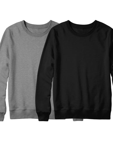 Black & Grey Sweatshirt Combo