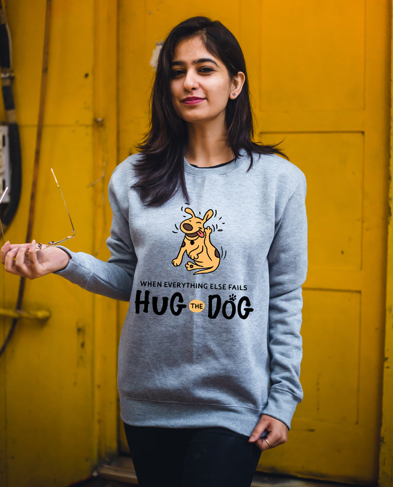 Hug Your Dog Sweatshirt
