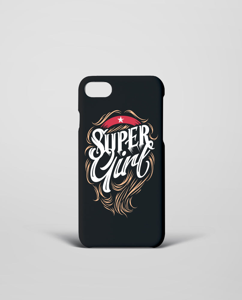Super Girl Mobile Cover