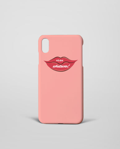 Yeah Whatever Mobile Cover
