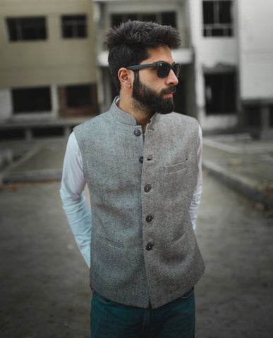 Concrete Nehru Jacket
