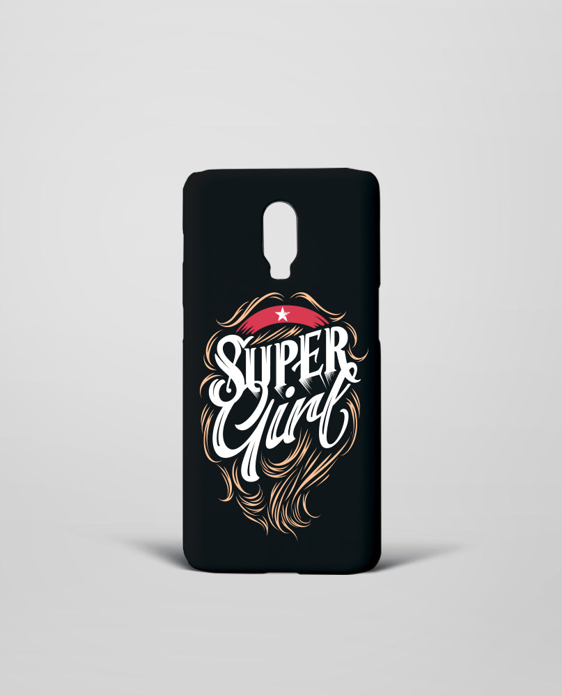 Super Girl OnePlus Mobile Cover