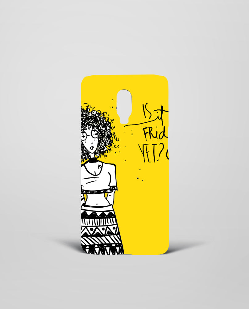 Friday Yet OnePlus Mobile Cover