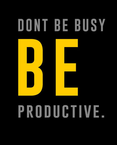Be Productive Sweatshirt
