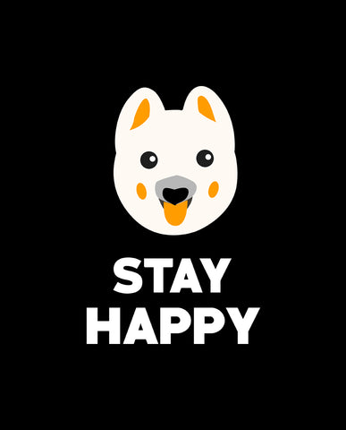 Stay Happy Tshirt