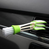 Double Ended Car Air Conditioner Vent Slit Cleaner Brush