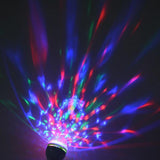 Colorful Auto Rotating RGB LED Bulb Stage Disco Light