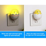 Wall Socket Light-control Sensor Bedroom lamp