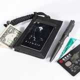 Lanyard with Key Ring and Credit Card Organizer