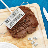 Personalized Steak Branding Iron