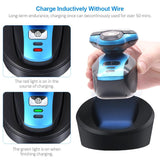 Wireless Charging 3 Blades Electric Shaver