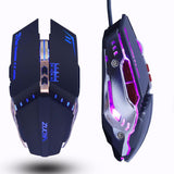 Gaming Mouse 3200DPI adjustable with Breathing Backlit
