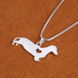 Dachshund Charm Necklace