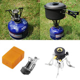 Portable Outdoor Gas Foldable Mini Steel Stove Case