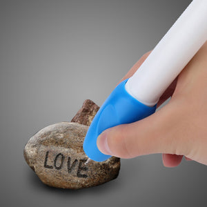 Brand New Hot Electric Jewellery Metal Plastic Glass Wood Engraver Pen Carve Tool Free shipping