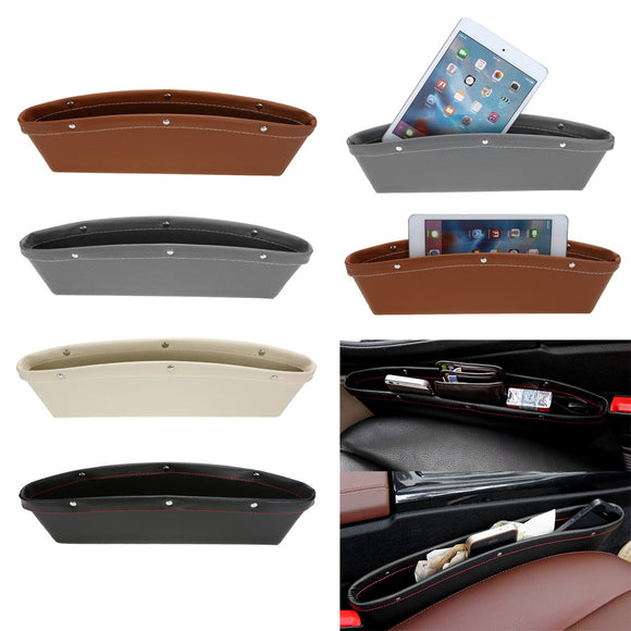 Car Seat Leather Pocket - Car Accessories