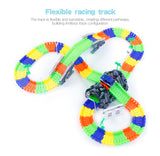 2017 New Glow Racing Track Set 28/96/144/192PCS Race Track
