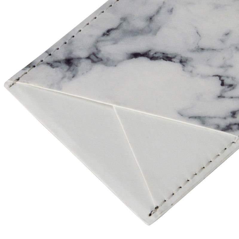 Oro White Marble - Card Pocket- Habitu Co.