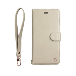 Cream - 2-in-1 Wristlet Folio- Habitu Co.
